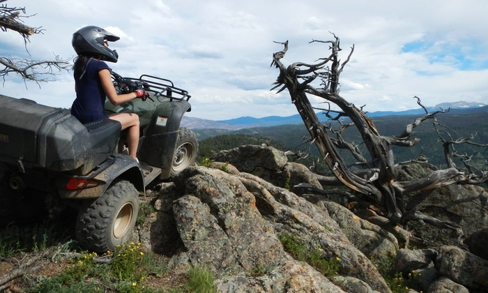 C.T.A.C. Tours - P.O.E.T: Four-Hour Rocky Mountain ATV Adventures for Two or Four People from C.T.A.C. Tours (Up to 41% Off)
