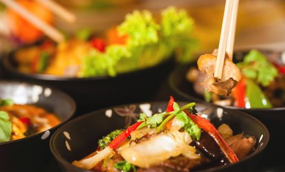 image for Two-Course Thai Meal with Sides for Two or Four at Thailicious (Up to 42% Off)