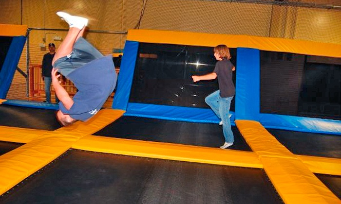 Great Jump Sports - Milpitas: Two Hours of Trampoline Jump Time for Two or Four at Great Jump Sports (Up to 50% Off)