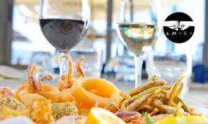 Ristorante il Brigante: Menu di pesce di 4 portate e vino (sconto fino a 70%)