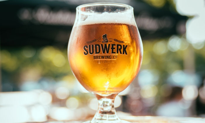 Sudwerk Brewing Co. - Sudwerk Brewery Co.: Brewery Tour Package for Two or Four with Tastings and Half-Growlers at Sudwerk Brewing Co. (Up to 31% Off)