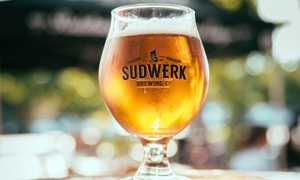 Sudwerk Brewing Co.: Brewery Tour Package for Two or Four with Tastings and Half-Growlers at Sudwerk Brewing Co. (Up to 31% Off)