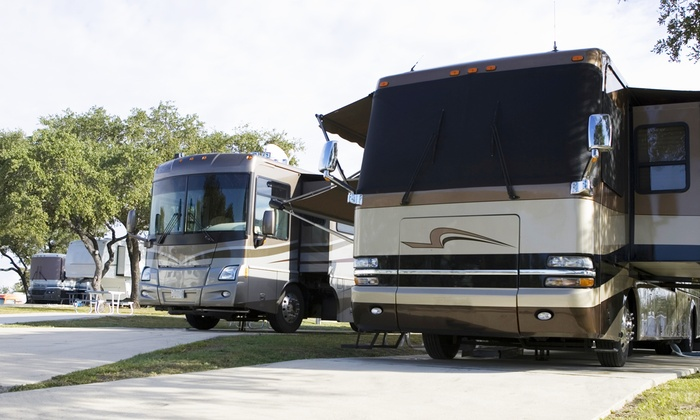 Campers Holiday - Brooksville: Up to 70% Off 2 nights at Campground  at Campers Holiday