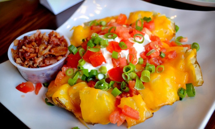 Saladish - Rancho Palos Verdes: Hearty Meal with Salad or Wrap and Potato for One or Two at Saladish in Rancho Palos Verdes (Up to 58% Off)