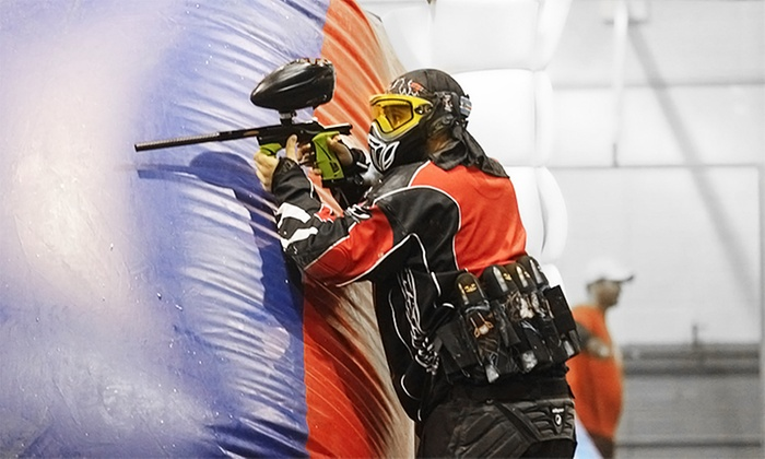 Lone Wolf Paintball - Lone Wolf Paintball Indoor Field: Paintball for 2, 4, 8, or 10 at Lone Wolf Paintball (Up to 56% Off)
