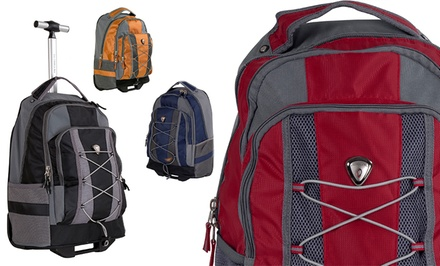 CalPak Impactor Rolling Backpacks