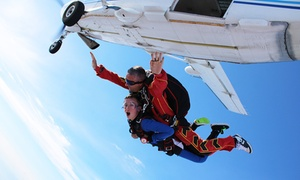SKYDIVE FLYZONE (sauts et avions): 1 saut en tandem, 1 coffret DVD de présentation et t-shirt pour 1 ou 2 personnes dès 209 € à Skydive-Flyzone