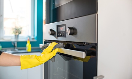 Oven Clean: Single ($59) or Double ($79) + Range Hood Clean ($89) at 3Sixty Cleaning Services (Up to $159 Value)