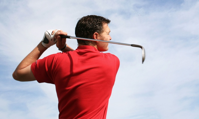 Tee Time - Colts Neck: Indoor Golf for Two or Four Players or Two 60-Minute Lessons at Tee Time (Up to 48% Off)