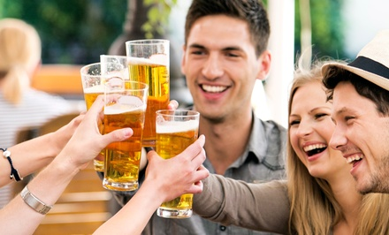 $44 for a Historic Pub Crawl and Beer-Tasting Tour for Two from St. Augustine City Walks ($78 Value)