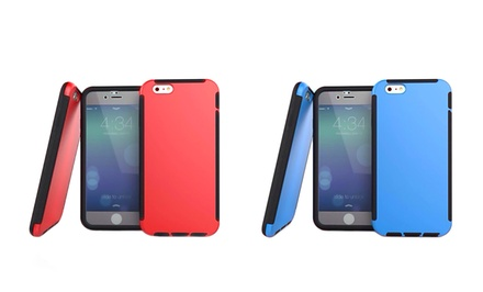 3D Luxe Dual-Layer Armor Case with Built-in Screen Protector for iPhone 6 or 6 Plus from $9.99–$11.99