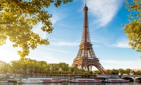 ✈París: 2, 3 o 5  noches para 1 con vuelo directo de IV, habitación doble, desayuno y crucero por el río Sena