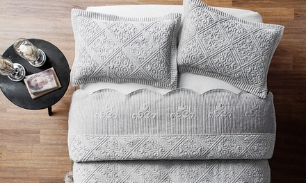 Westland Quilted Plush Bedspread Set (2- or 3-Piece)
