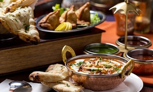 Restaurant Royal Tandori: C$38 for a 4-Course Indian Dinner for Two at the Restaurant Royal Tandori (Up to C$78 Value)