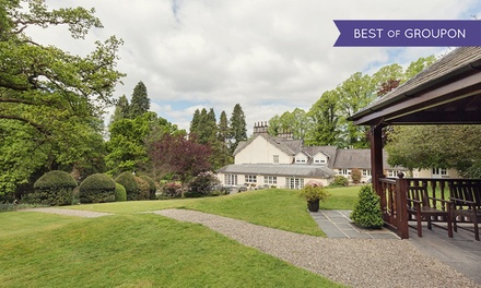 Lake District: 1 or 2 Nights for Two with Breakfast, Cream Tea or Windermere Cruise Tickets at Briery Wood Country House