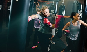 TITLE Boxing Club: $50 for One Month of Unlimited Boxing and Kickboxing Classes and Hand Wraps at TITLE Boxing Club ($137 Value)