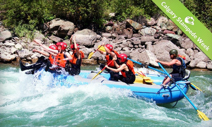 Mountain High Adventures - Fernie: Full-Day Whitewater-Rafting Trip for Two or Four from Mountain High Adventures in Fernie (Up to 60% Off)