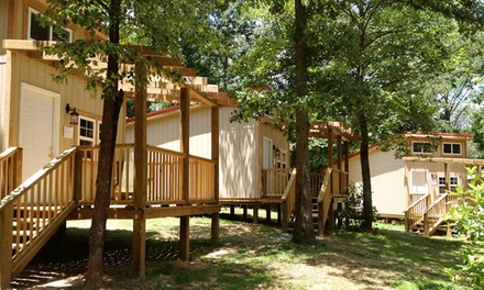 $125 for a Two-Night Stay in a Four-Person Bungalow from Adventures Unlimited ($250 Value)
