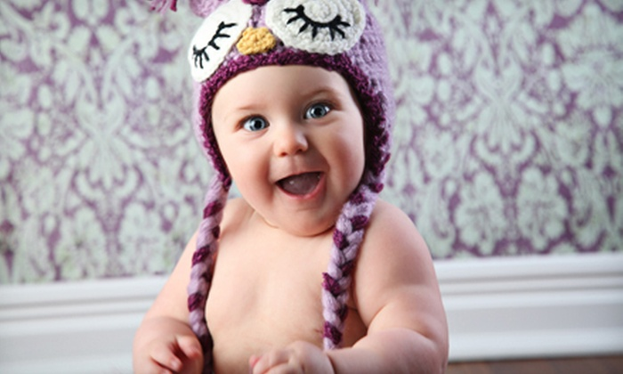 Divine Portrait Boutique - Spokane: Baby's-First-Year Package or a Family Photo Package at Divine Portrait Boutique in Spokane Valley (Up to 89% Off)