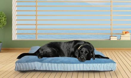 FurHaven Striped Fiber-Filled Indoor/Outdoor Pet Pillows