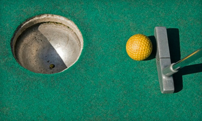 Richland Golf Center - Huntsville: Mini Golf for Two or Four or Nine Holes of Golf with Cart for Two or Four at Richland Golf Center (Up to 51% Off)