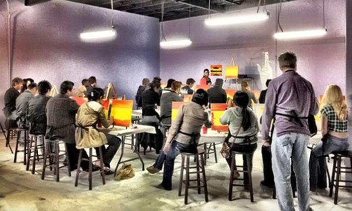 PaintNVineyard - Scripps Ranch: $25 Toward Painting Classes