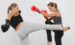 Get Fit Kickboxing​: 5-, 10-. or 20-Class Punch Card at Get Fit Kickboxing (Up to 73% Off)