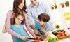 kochfreude - Mehrere Standorte: 1, 3 oder 12 Monate Wochenspeiseplan mit Einkaufsliste für Singles, Paare oder Familien bei kochfreude (bis 34% sparen*)