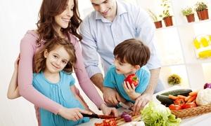 kochfreude: 1, 3 oder 12 Monate Wochenspeiseplan mit Einkaufsliste für Singles, Paare oder Familien bei kochfreude (bis 34% sparen*)