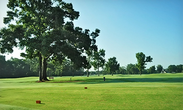 J.S. Clark Golf Course - Baker/Zachary: $24 for a 9-Hole Round of Golf for Two Including Cart Rental at J.S. Clark Golf Course (Up to $50 Value)