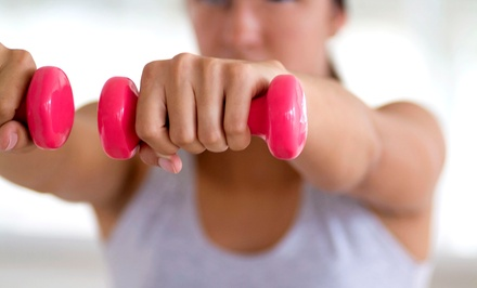 Four-Week Women's Boot Camp With Wholistic Fitness (75% Off). Two Locations Available.