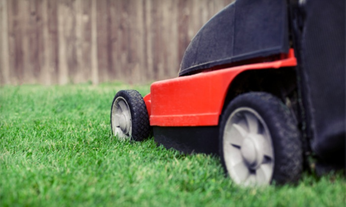 Twin Boss Enterprises - Raleigh / Durham: $25 for Lawn-Care Services for Up to Three-Quarters of an Acre from Twin Boss Enterprises ($50 Value)