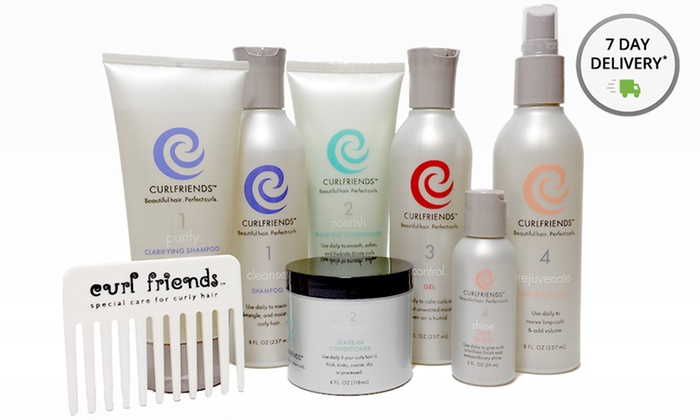 Curl Friends Haircare and Styling Products: Haircare and Styling Products from CurlFriends. Multiple Options from $29–$60. Free Shipping.