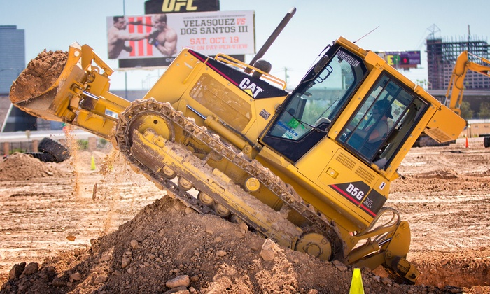 Dig This - Las Vegas: $169 for a 90-Minute Bulldozer or Excavator Big Dig at Dig This ($249 Value)