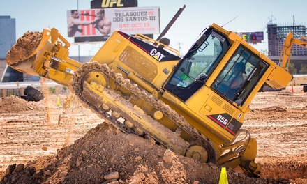 $167 for a 90-Minute Bulldozer or Excavator Big Dig at Dig This ($249 Value)