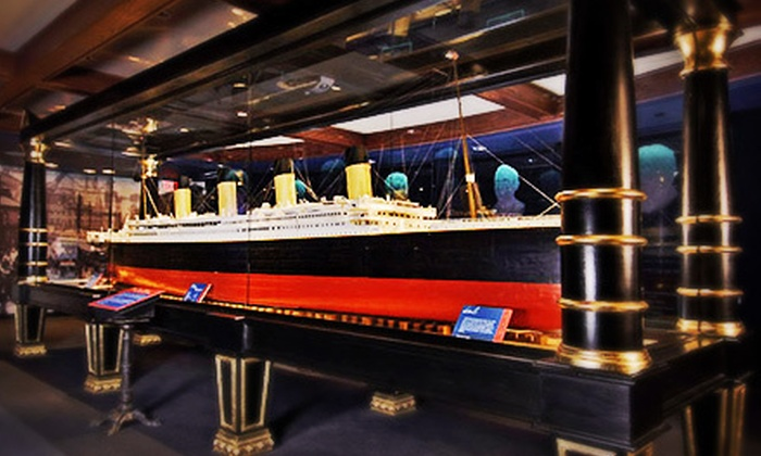 Titanic Branson - Titanic Branson: Museum Visit for Two Adults or a Family of Two Adults and Four Children to Titanic Branson (Up to 47% Off)