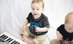 Ketos Creative: Four or Eight Early-Childhood Music Lessons for Kids Under Age 3 or Aged 3–7 at Ketos Creative (Up to 43% Off)