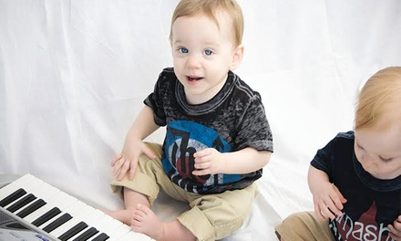 Four or Eight Early-Childhood Music Lessons for Kids Under Age 3 or Aged 3–7 at Ketos Creative (Up to 43% Off)