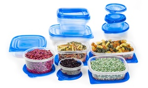 34-piece Bpa-free Plastic Food-storage Container Set