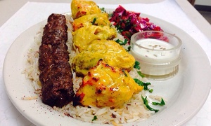 Kabob Place: Afghani, Indian, and Middle Eastern Food at Kabob Place (Up to 40% Off). Three Options Available.
