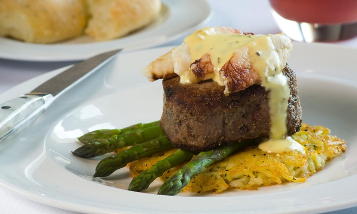 John Howie Steak - Bellevue: $35 for $60 Worth of Steak Dinner and Wine at John Howie Steak. Three Expiration Dates Available.