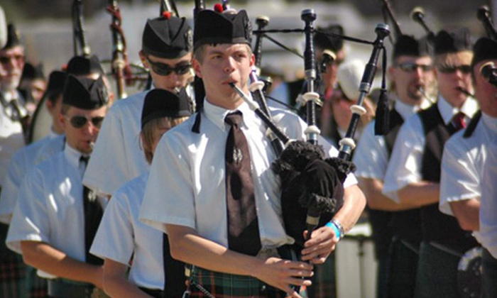 Tucson Celtic Festival & Scottish Highland Games - Ward 3: Tucson Celtic Festival & Scottish Highland Games for Two or a Family of Four (Up to 52% Off). Three Options Available.