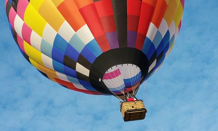 Ventures Aloft - Arizona - Tucson : Hot Air Balloon Ride with Mimosas and Champagne for One or Two from Ventures Aloft - Arizona (Up to 23% Off)