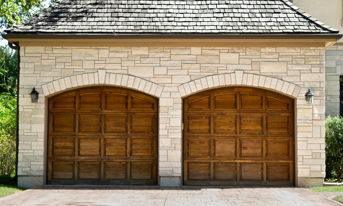 Garage door inspection professional garage doors groupon 2 car garage doors