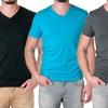NLA Men's Premium Cotton Blend V-Neck Shirt