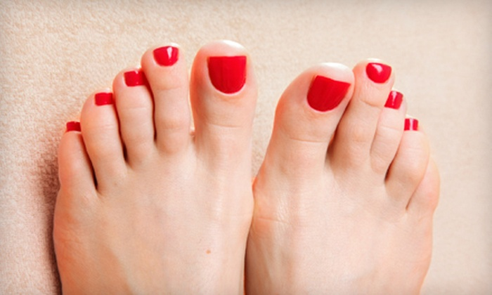 Allure Hair Lounge - Dartmouth Centre: One or Three Pedicures at Allure Hair Lounge (50% Off)