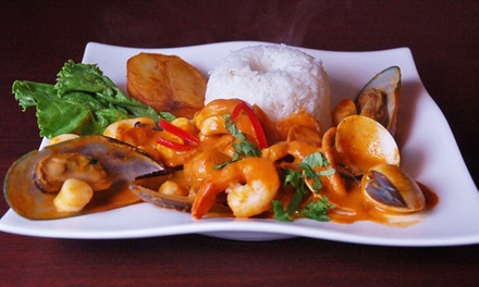 Peruvian Dinner for Two or Four at Machu Picchu Restaurant Peruvian Cuisine and Bar (Up to 45% Off)