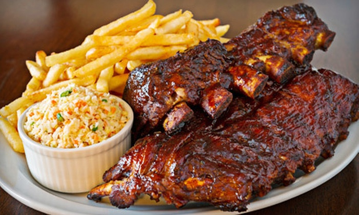 SmoQ - SmoQ: Memphis Sampler Barbecue Meal for Two, Four, or Six at smoQ (Half Off)