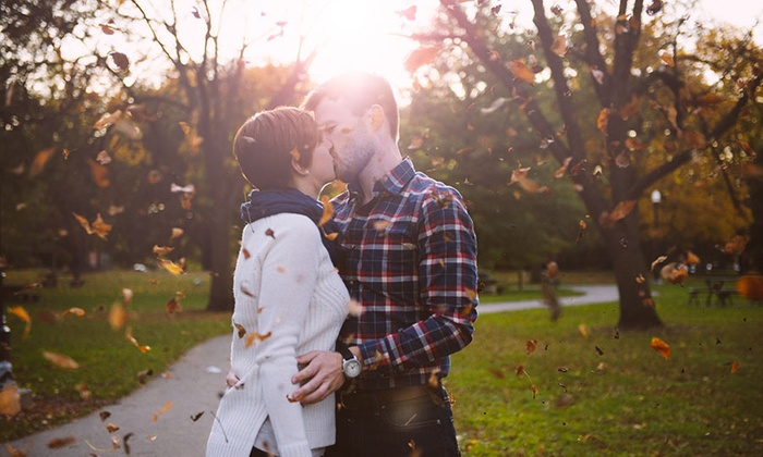 Hue Photography - Piedmont Triad: 120-Minute Engagement Photo Shoot with Wardrobe Changes and Digital Images from HUE Photography (71% Off)