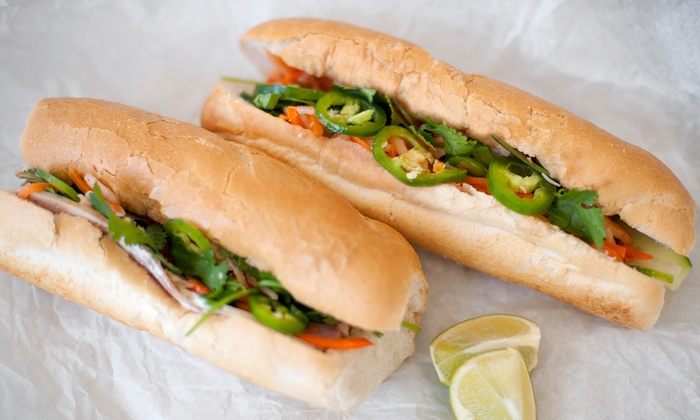 Dinosaurs Vietnamese Sandwiches - Multiple Locations: $12 for $20 Worth of Banh Mi at Dinosaurs Vietnamese Sandwiches